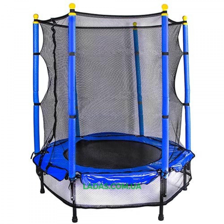 Батут детский с защитной сеткой Let's Go (диаметр 122 см)