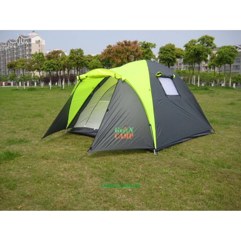 Палатка трехместная Green Camp 1011
