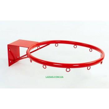 Кольцо баскетбольное UR (d кольца-40см, d трубы-16мм, металл)