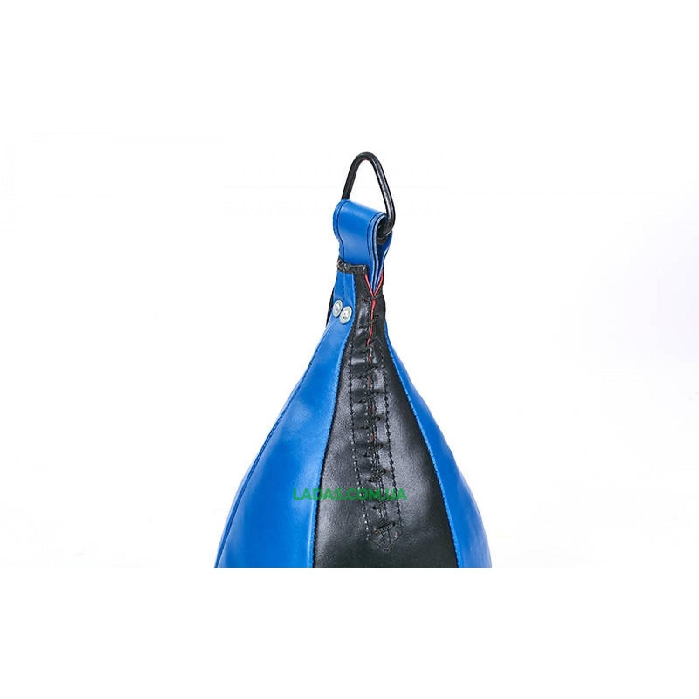 Груша набивная Каплевидная подвесная ЛЕВ UR (кожа, наполнитель-ветошь,вес-9кг)