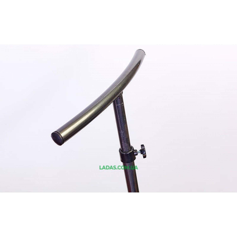 Фитнес-батут с одинарной ручкой восьмиугольный 42in (крепление - резина с метал. кольцом, d-107см)