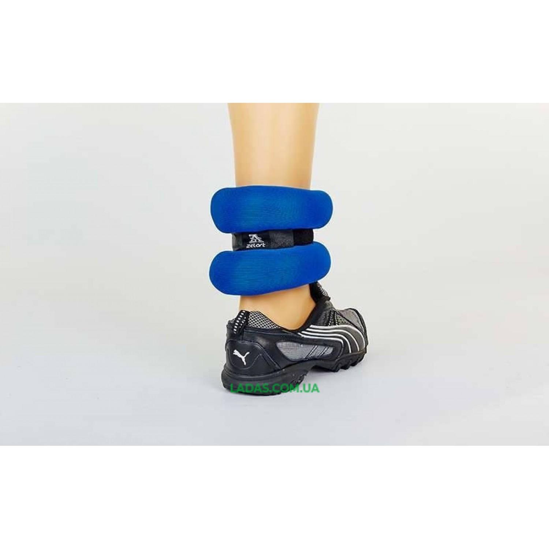 Утяжелители-манжеты для рук и ног ZEL-1 (2 x 1,5 кг, наполнитель-песок)
