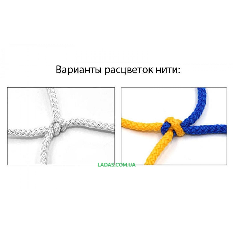 Сетка-гаситель для футзала и гандбола (2шт) Стандарт UR (PP 3,5мм, р-р 2,1x3,0м, ячейка 12см)