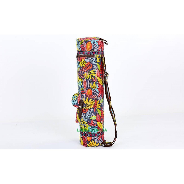 Сумка для йога коврика Yoga bag FODOKO (р-р 16х70см, мультиколор)