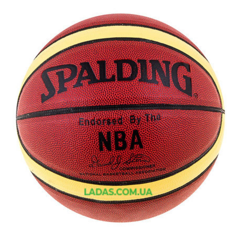 Мяч баскетбольный Spald №7 NBA AuthenticDavidSpein PVC