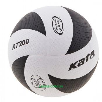 Мяч волейбольный Kata200 (PU, №5, клееный)