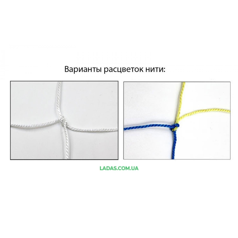 Сетка для волейбола Капрон15 UR (капрон 1,2мм, р-р 9x0,9м, со шнуром натяжения)