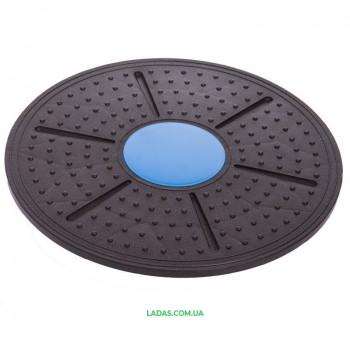 Диск балансировочный BALANCE BOARD (пластик, d-37см)