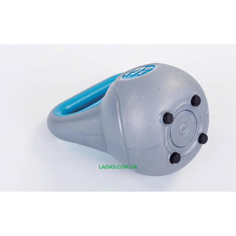 Гиря пластиковая TA-5734- 3 3кг (наполнение цемент)