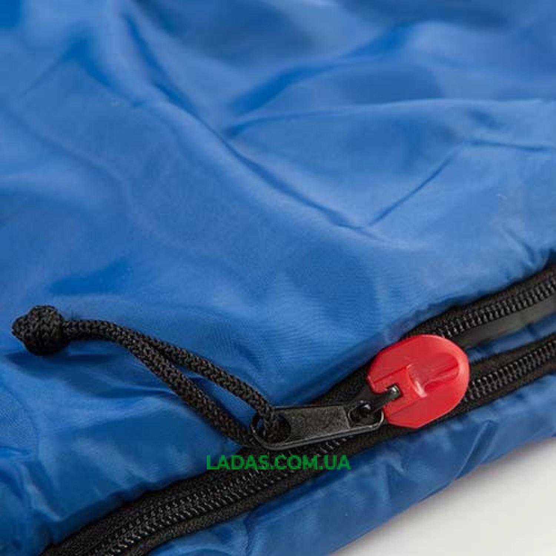 Спальный мешок одеяло REDCAMP RC484/3-18BY (PL, 400г на м2,р-р 190*84cm, цвет синий)
