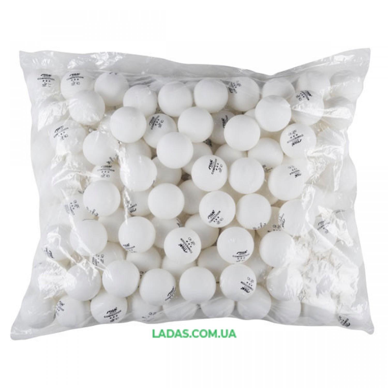 Шарики для настольного тенниса Stg *** (144 шт в пакете)