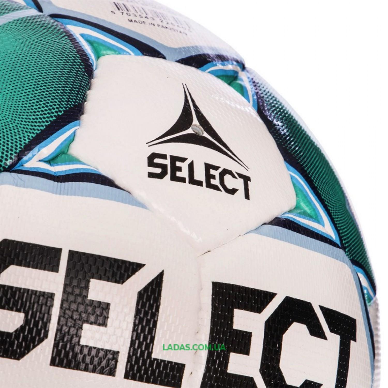 Мяч футбольный №5 SELECT CAMPO-PRO IMS (FPUS 1300, бело-зеленый)