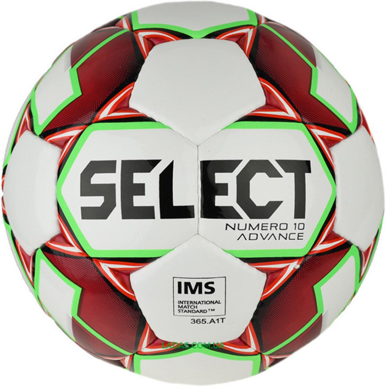 Мяч футбольный №5 SELECT NUMERO 10 IMS (FPUS 1500, бело-синий)