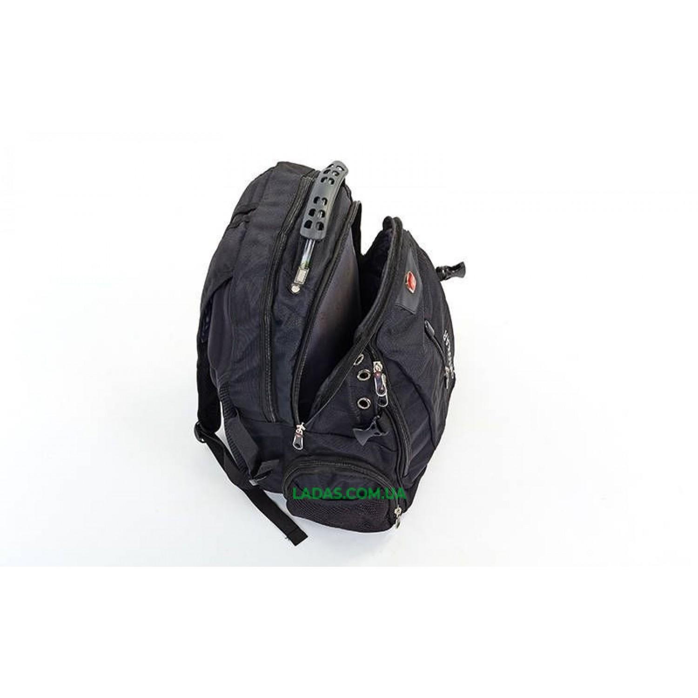 Рюкзак городской VICTOR (PL, р-р 44x30x23см, черный)