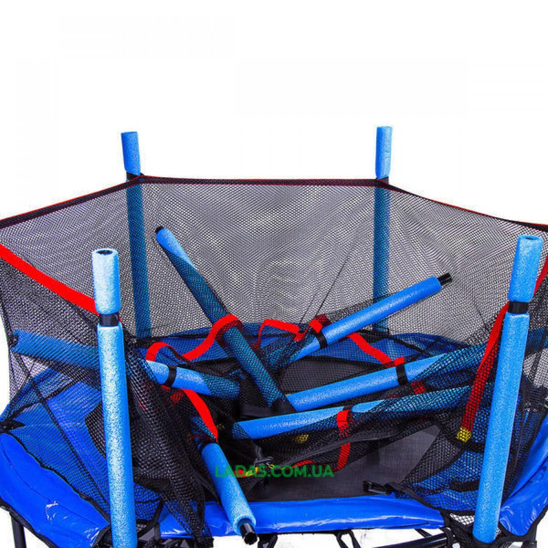 Батут детский с защитной сеткой Let's Go (диаметр 152 см)