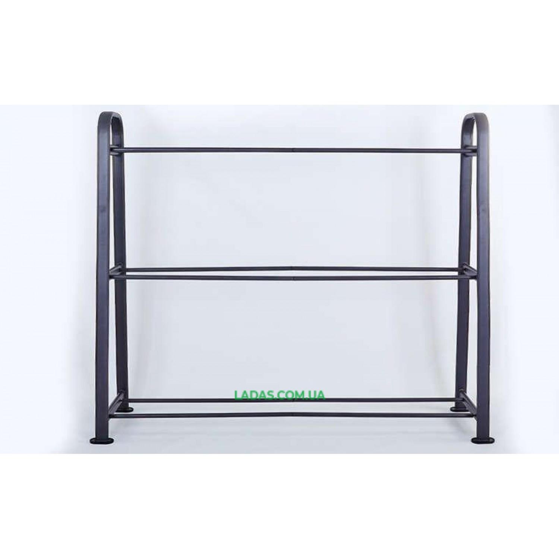 Подставка (стойка) для фитболов(металл, р-р 218х64х181см)