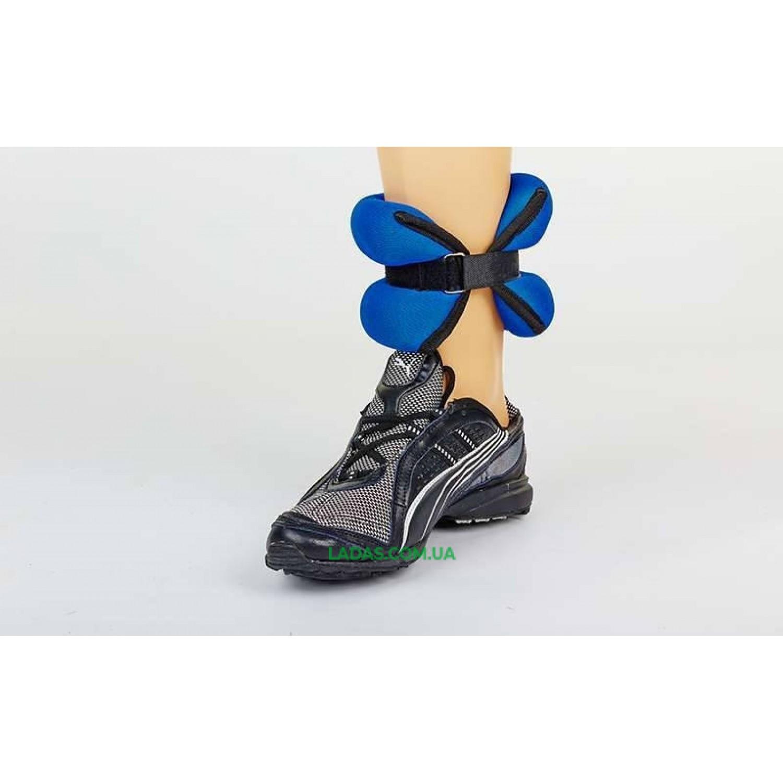 Утяжелители-манжеты для рук и ног ZEL-1 (2*2,0кг, наполнитель-песок)