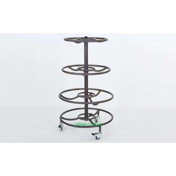 Подставка (стойка) для медболов (металл, р-р 75х75х134см)