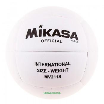 Мяч волейбольный Mikasa (PU, №5, клееный)
