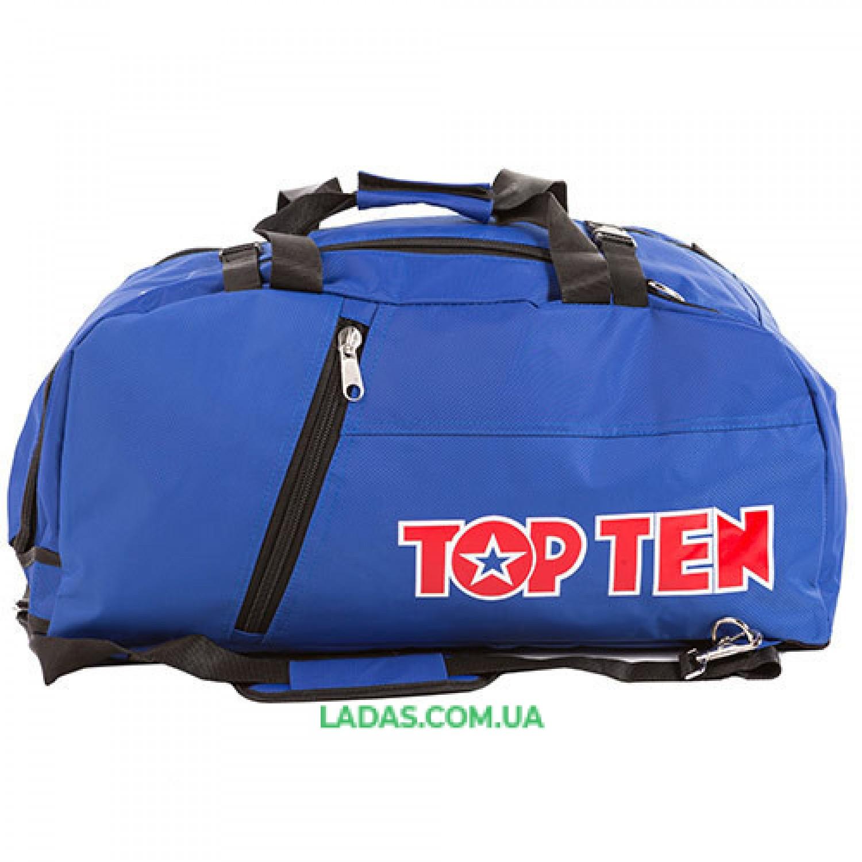 Сумка спортивная Top10, синий, 58*27*29 см