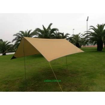 Тент GreenCamp GC0281Y коричневый