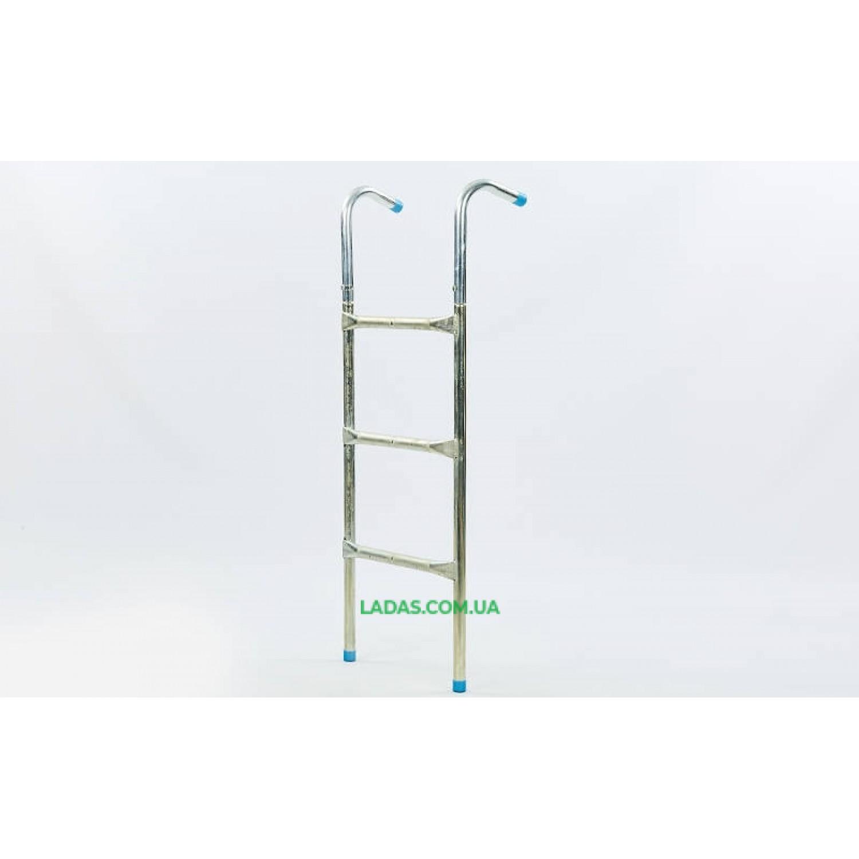 Лестница приставная для батута (алюминий, р-р-100x37см, для батутов от 12-ти 16-ти ft)