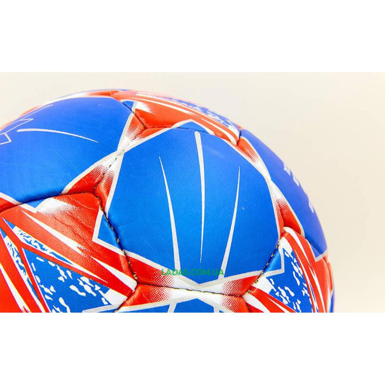 Мяч футбольный №5 Гриппи REAL MADRID (№5, 5 сл., сшит вручную)