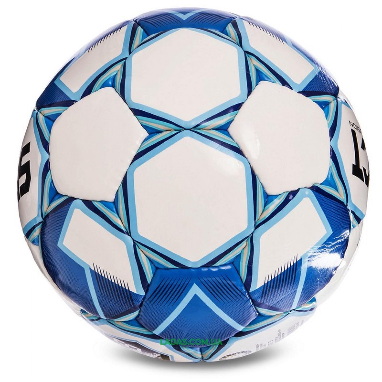 Мяч футбольный №5 SELECT FUSION IMS (FPUS 1100, бело-голубой)