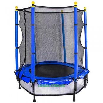 Батут детский с защитной сеткой Let's Go (диаметр 127 см)