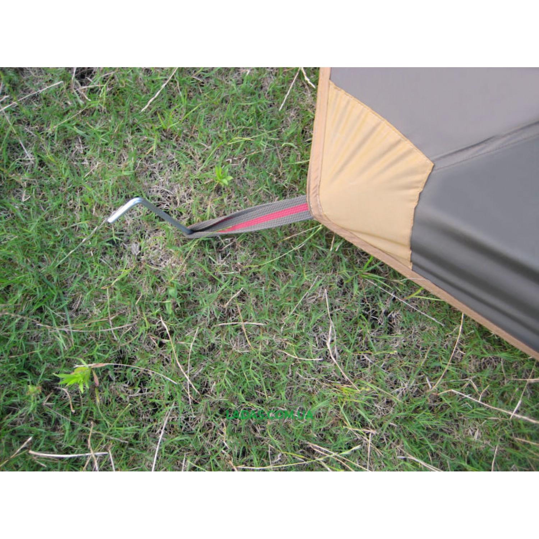 Палатка трехместная с тамбуром Green Camp GC1017