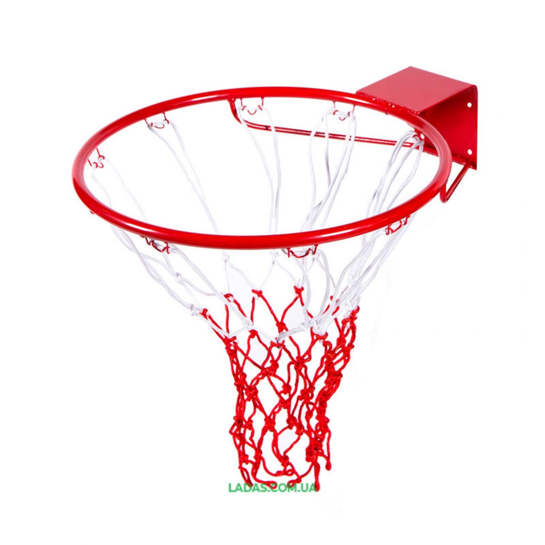 Кольцо баскетбольное с сеткой (d кольца=45см, d трубы=16мм)