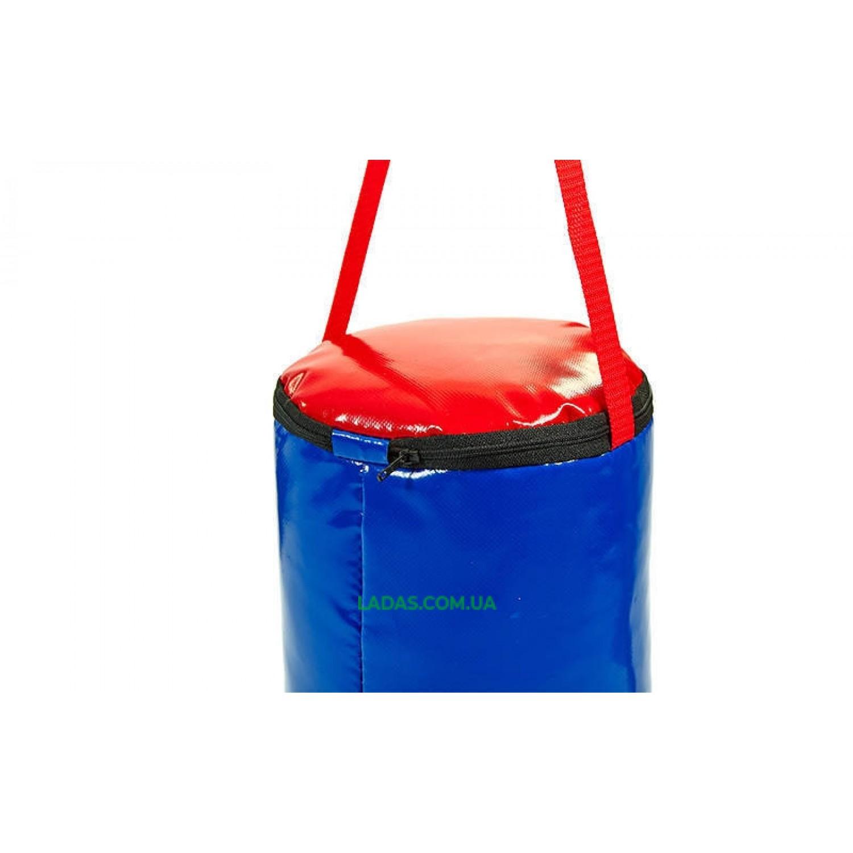Мешок боксерский Цилиндр ПВХ SPORTKO (древ.опилки, h-40см, d-19см, вес-3кг)