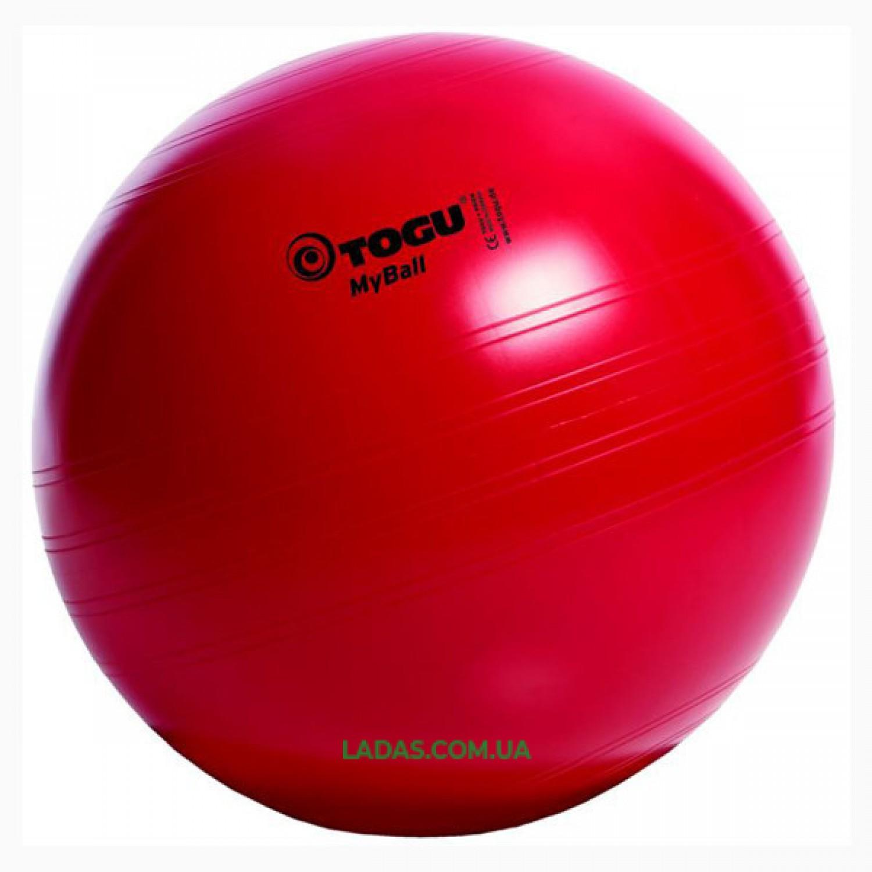 Мяч фитнес TOGU 55 см, MyBall, красный
