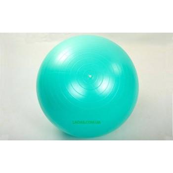 Мяч для фитнеса (фитбол) гладкий сатин 75см (PVC, 1000г, ABS техн.)