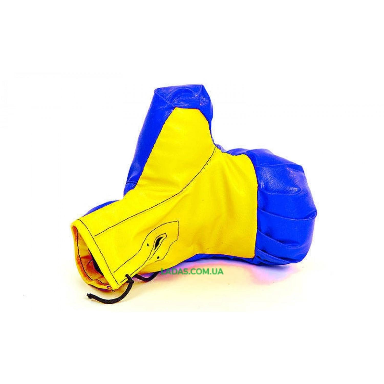 Боксерский набор детский (перчатки+мешок) SP-Planeta BO-4675-S (PVC, размер S, мешок h-39см, d-14см, цвета в а