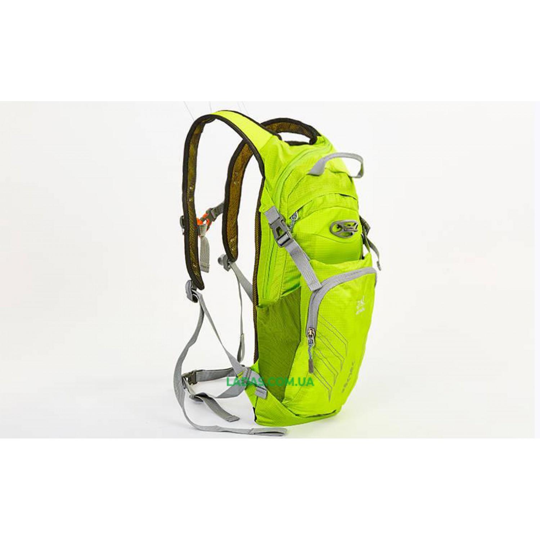 Рюкзак спортивный с жесткой спинкой GA-2086 (нейлон, р-р 22х5х48см)