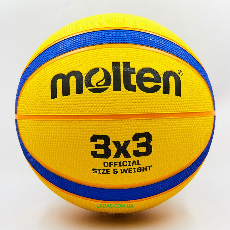 Мяч баскетбольный резиновый №7 MOL