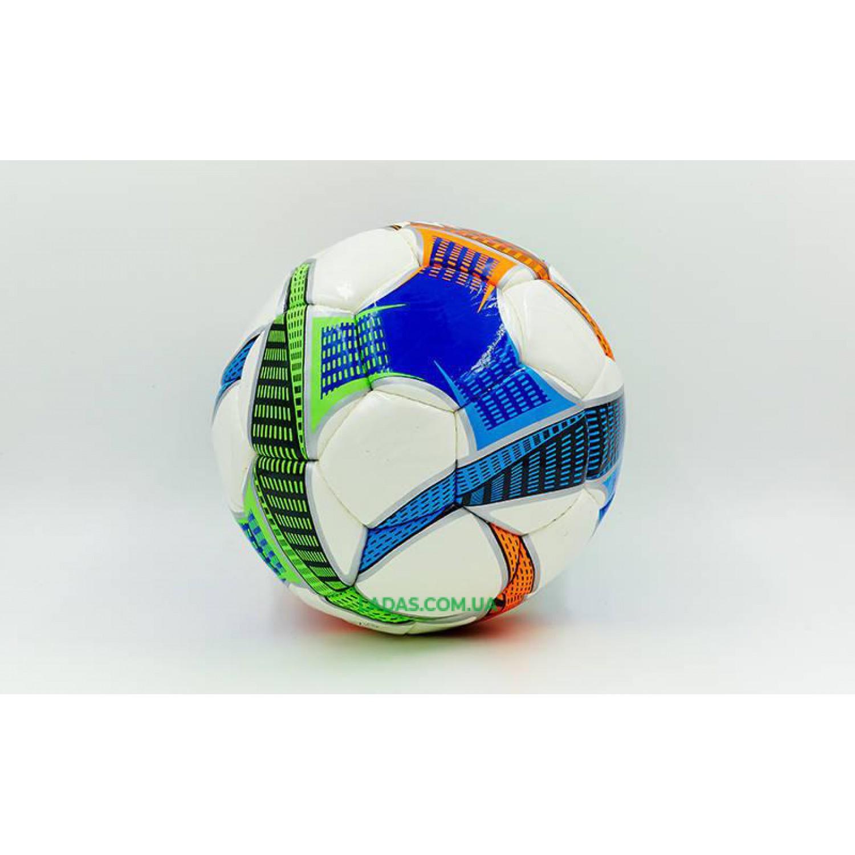 Мяч футбольный №5 PU DX LTO (белый, сшит вручную)