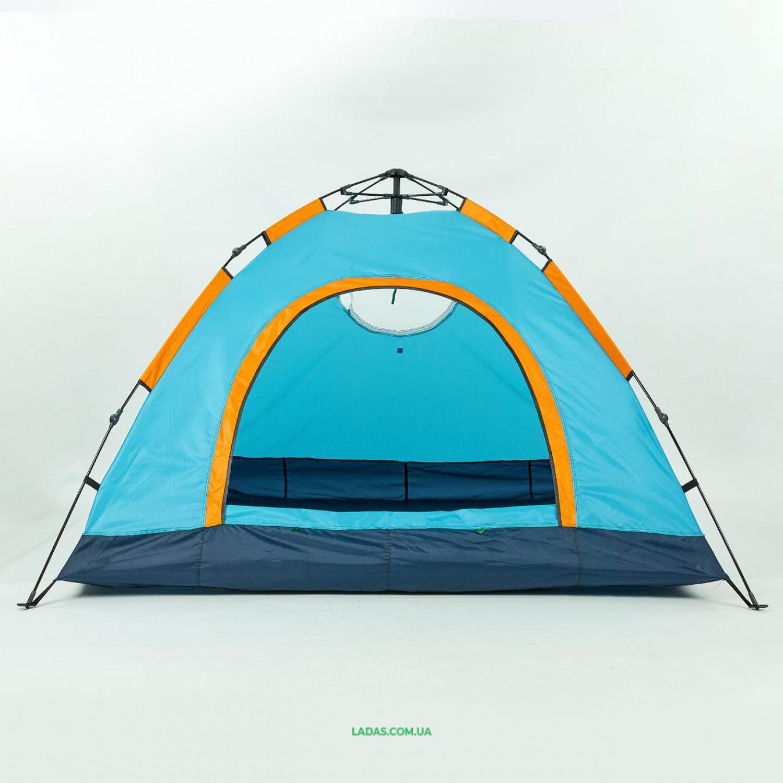 Палатка-автомат с автоматическим каркасом TY-0537 (р-р 2х2,1х1,35м, 1 слой, PL)