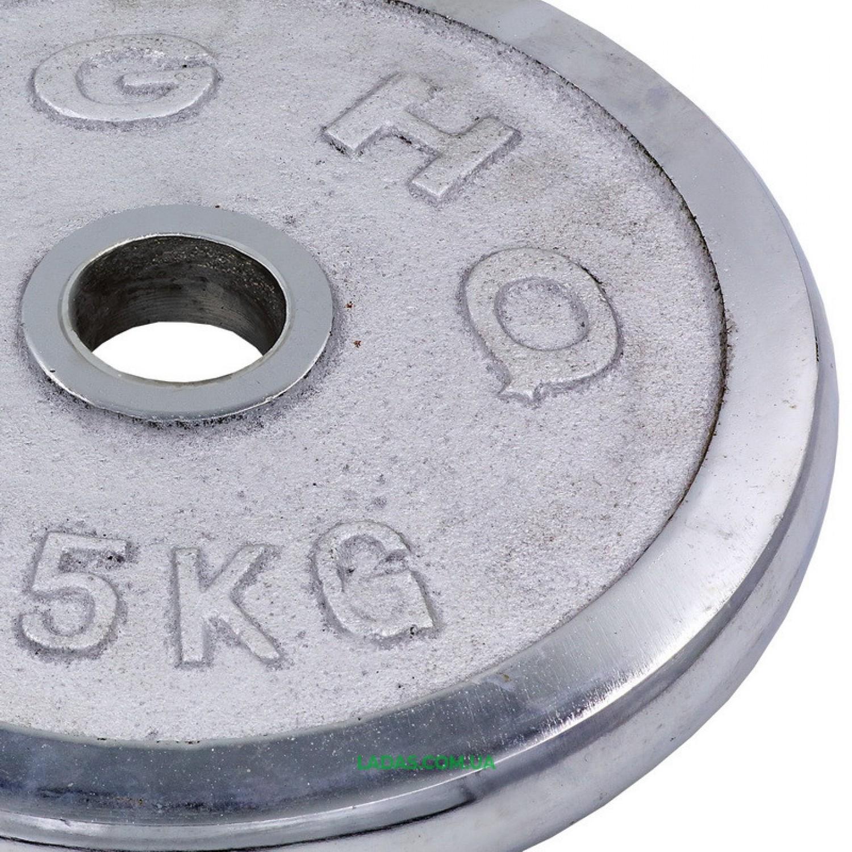 Блины (диски) хромированные d-52мм (1шт*15кг)