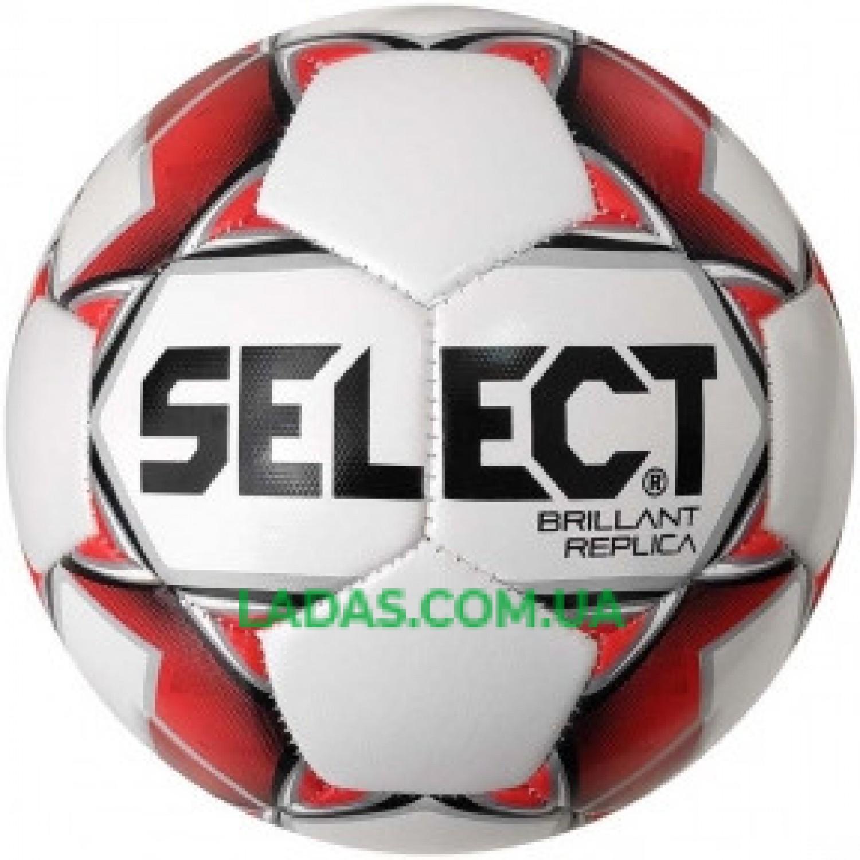 Мяч футбольный №4 SELECT BRILLANT REPLICA NEW (PVC 1000)