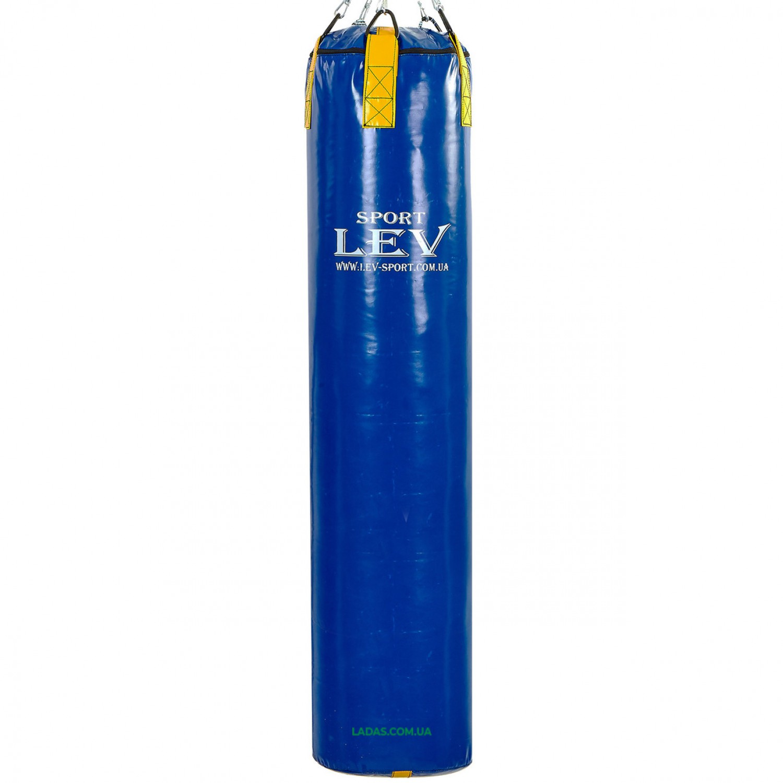 Мешок боксерский Цилиндр Тент ЛЕВ UR (наполнитель-ветошь, высота-150см, вес-80кг)