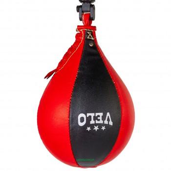 Груша пневматическая Каплевидная подвесная VELO (верх-кожа, латекс.камера, d-17см, l-28см)