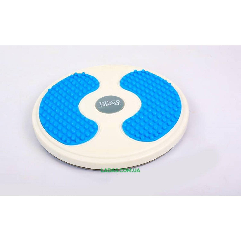 Диск здоровья массажный Грация Pro Supra (пластик, толщина-3,3см, d-28см)