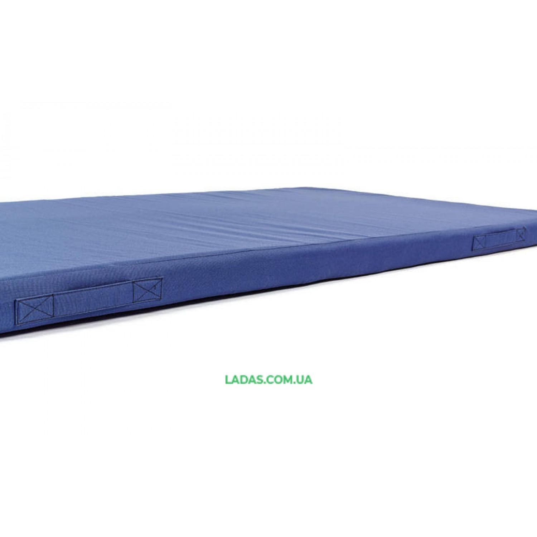 Мат спортивный Тент 2x1м x 8см UR ZEL (наполнитель-поролон,на молнии)
