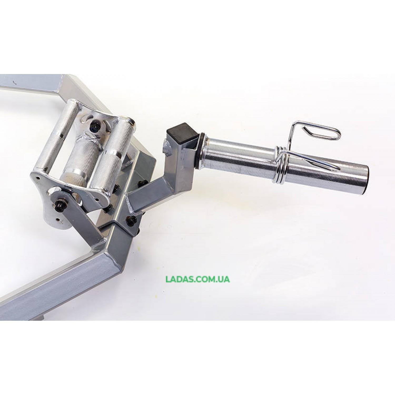 Гриф трэп восьмиугольный или рама для становой тяги SUPER HEX TRAP (р-р 168x80x29см, d-5см)