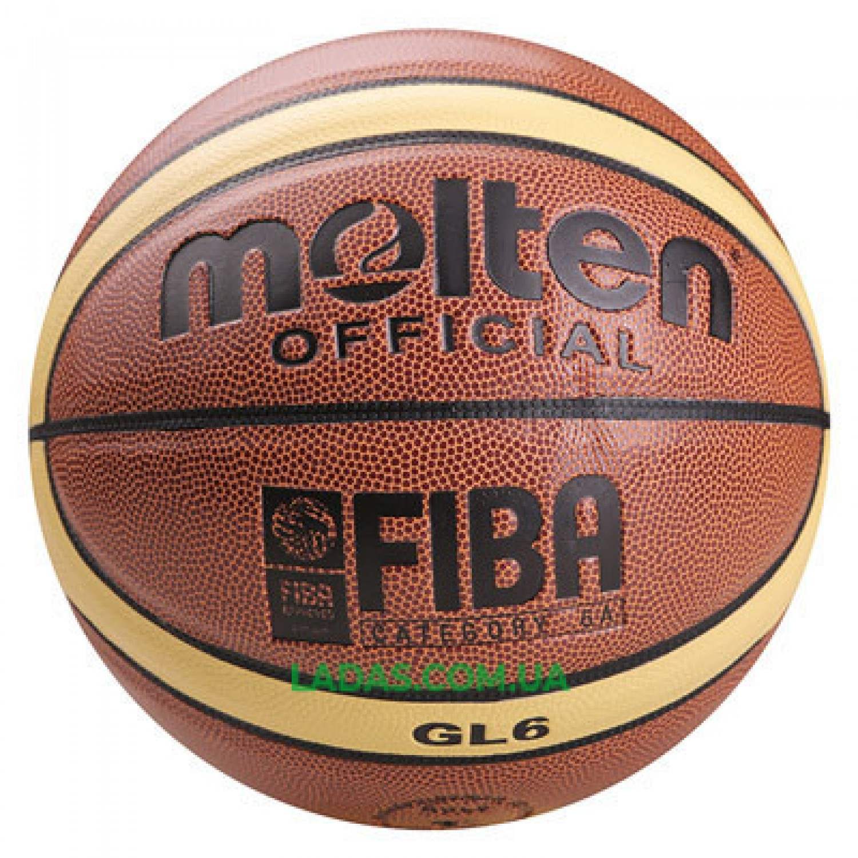 Мяч баскетбольный Mol №6 PU