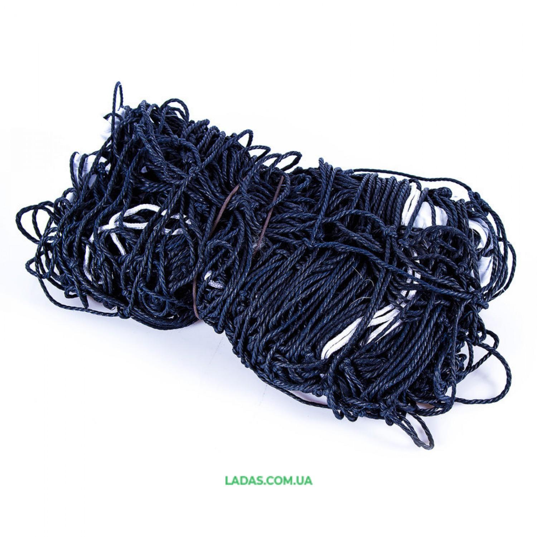 Сетка для волейбола (хлопок, р-р 9,5м*1м*3,8мм, со шнуром натяжения)