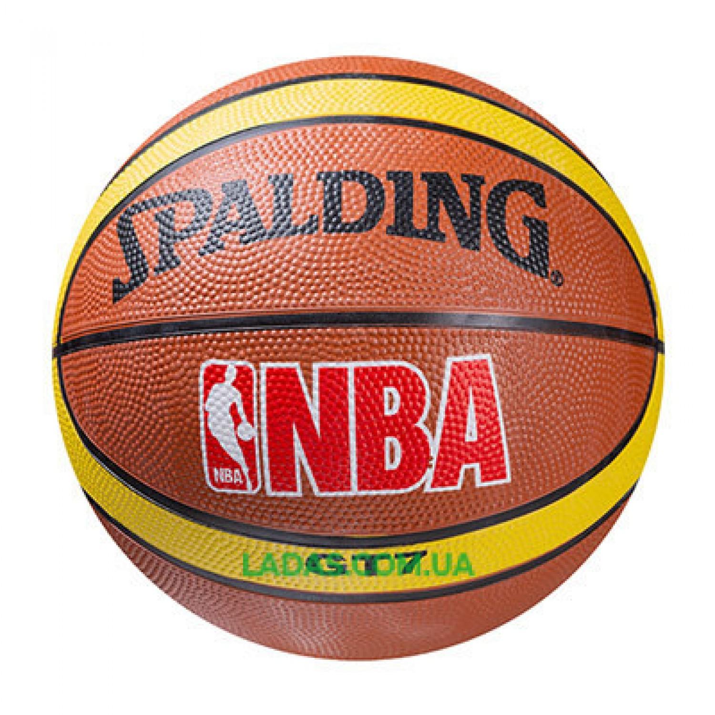 Мяч баскетбольный резиновый Spalding №7