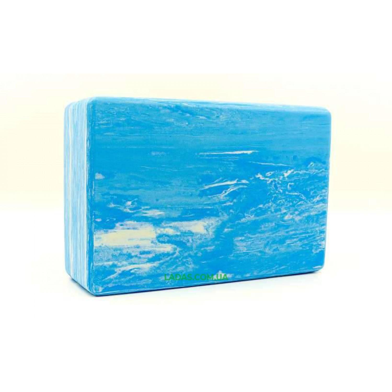 Блок для йоги мультиколор (EVA, р-р 23х15х7,5см)